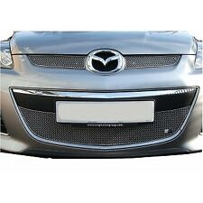 ZUNSPORT SILVER FRONT GRILLE SET for MAZDA CX7 2010-2012 ZMA31710