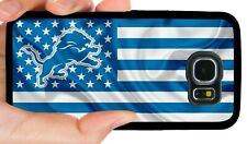 DETROIT LIONS PHONE CASE FOR SAMSUNG GALAXY & NOTE 5 S6 S7 EDGE S8 S9 S10 E PLUS
