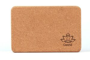 Ganrid - Natural Cork Bricks - Yoga Support