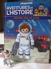 Livre Playmobil Aventure de l'histoire N° 49 Voyages sur La Lune Altaya