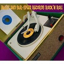 Bullet and sur-Speed Records Rock 'n' Roll CD 26 tracks heavy metal/rock NUOVO