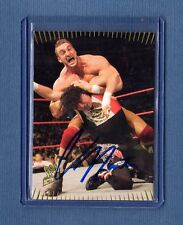2017 Leaf Buyback Wrestling Chris Masters Auto Autograph Card WWE