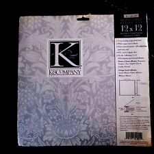 K & Company Design Series Refill Kit Insert Sheets and Page Protectors 12x12