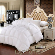 Luxury DesignTop Quality White Goose Down Filler/Inner Quit King Size Thickening