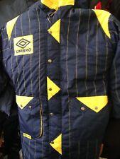 UMBRO Veste 1990 S Vintage/Coach Jacket 34/36 36/38 inchmens at £ 28 RRP £ 49.99