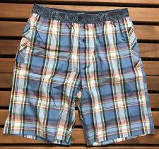Jockey Men's Bermuda Woven Pyjama Short - Blue - Medium - 537502H-431