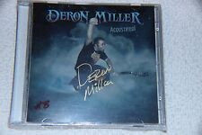 Deron Miller: Acoustified 2CD Autographed Numbered Limited Edition #8/50 NEW!