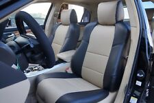 ACURA TSX 2004-2008 IGGEE S.LEATHER CUSTOM FIT SEAT COVER 13 COLORS AVAILABLE