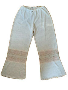 $256 CLAIRE PETTIBONE RUNWAY COLLECTION PAJAMAS LOUNGE PANTS YOGA NWOT S