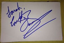 JOHN BARROWMAN SIGNED 6X4 WHITE CARD TV AUTOGRAPH TORCHWOOD DOCTOR WHO TO SARAH