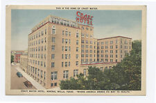 Linen Crazy Water Hotel, Mineral Springs TX, c. 1950 Texas