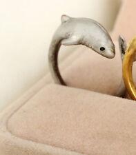 Shark Rings - Silver - Adjustable (R27)