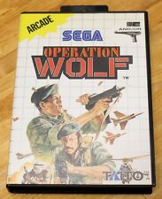 OPERATION WOLF - MASTER SYSTEM 2 - PAL ESPAÑA - SEGA II THE