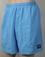 Speedo Blue Swim Shorts Trunks Mesh Lining Waterproof Pocket NWT