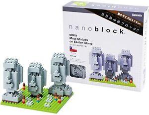 NANO BLOCKS MOAI STATUES ON EASTER ISLAND MINI BRICKS PUZZLE NANOBLOCK GIFT