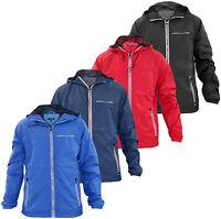 Mens Original Fire Trap Designer Windbreaker Summer Jacket Hooded Zip Coat