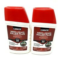 Eliminator Weed & Grass Killer Plus Concentrate 16 Fluid Ounces Lot of 2