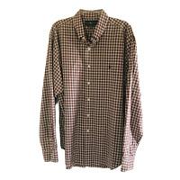 Ralph Lauren Classic Fit Mens Long Sleeve Button Down Shirt Red Plaid Size XL