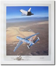 Free Enterprise (Remarqued A/P) by Mike Machat - Boeing 747 & Space Shuttle