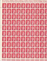 Stamp Germany Ukraine Mi 20 Sheet 1941 WWII AH Hitler Occupation Overprint MNH