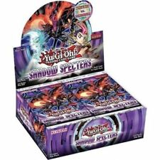 Yugioh SHADOW SPECTERS English Booster Box 24ct. Packs 1st Edition