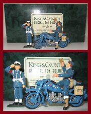 "King & Country Glossy ""RAFGC2 - Dispatch Rider & MP""  **K&C/8620.3**"