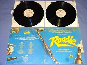 Roadie Original Motion Picture Soundtrack LP Vinyl Record Hank Williams Blondie