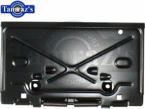 for 68-79 Chevrolet BOP Rear License Plate Bracket Holder Fuel Gas Door