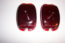 1940-53 Chevy truck, glass taillight lenses one pair new.