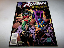 SIGNED MIKE WIERINGO ROBIN #44 DC 1ST PRINT BATMAN'S CRIME FIGHTING PARTNER