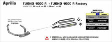 SILENCIEUX ARROW ALU DARK APRILIA TUONO 1000 R FACTORY 2006/10 - 71677AON