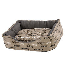 Ferplast Coccolo 50 Bed Cities Design - Cat / Dog Bed