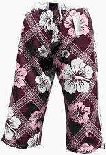 Pantaloncini da Bagno Bermuda da Bagno Pantaloni Cargo MOKKA MARRONE IN L