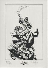 Mathieu Lauffray Prophet – Long John Silver ex libris 80 ex signé - Amazonie BD