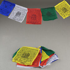 10 Tibetan Buddhist Spiritual Prayer Flags Religious Buddhist Hippie Boho Home