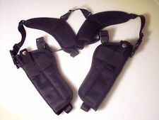 "Vertical DOUBLE Shoulder Holster MAGNUM RESEARCH DESERT EAGLE 44 / 50 6"" barrel"