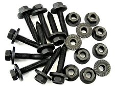 Ford Body Bolts & Flange Nuts- M6-1.0mm Thread- 10mm Hex- Qty.10 ea.- #394