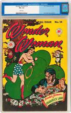 Wonder Woman #14 CGC 6.5 DC 1945 White Pages! Superman Batman Flash JLA E9 1 cm