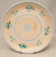 "Caleca Italy CAA1 Hand Painted Salad  Plate(s) 8 1/4"" Excellent"