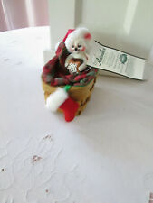 """Annalee Doll, Christmas 3"""" Bedtime Mouse,Pristine, 2003, Nmwt"""