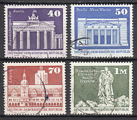 DDR 1973 Mi. Nr. 1879-1882 gestempelt