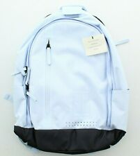 Nike Womens Court Advantage Traveling Water Repellent Tennis Backpack Light Blue