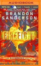 The Reckoners: Firefight 2 by Brandon Sanderson (2016, MP3 CD, Unabridged)
