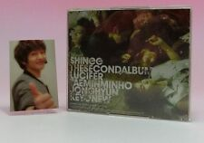 CD+DVD+Booklet+Onew Photo Card SHINee The 2nd ALBUM LUCIFER Jacket-A
