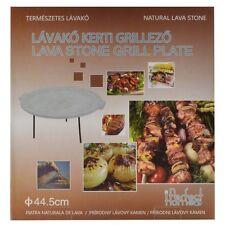 Grillplatte,Lavastein,Grillschale,Grill,45 cm,Natur,Grillen,Perfect Home
