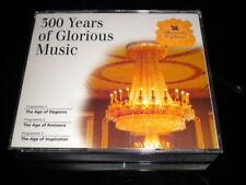 CD de musique classique en coffret sur album