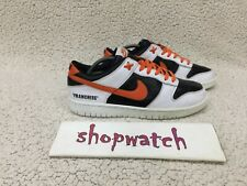 💥2007 Nike SB Dunk Low NIKEiD (FRANCHISE) Black/orange/white 316143-991 Size 10