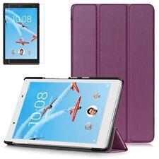 Slim Smart Case For Lenovo Tab 4 HD 8 Inch 16GB TB-8504 + Glass Screen Protector