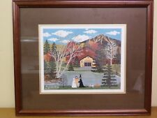 Ghosts and Goblins by Jane Wooster Scott Framed Signed Numbered COA Lithograph