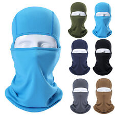 Full Face Mask lycra Balaclava Ultra-thin Cycling Motorcycle Windproof Outdoor